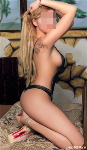 Matrimoniale Bucuresti: Blonda high class Poze reale confirm cu tatuajele